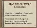 abnt nbr 6023 2002 refer ncias2