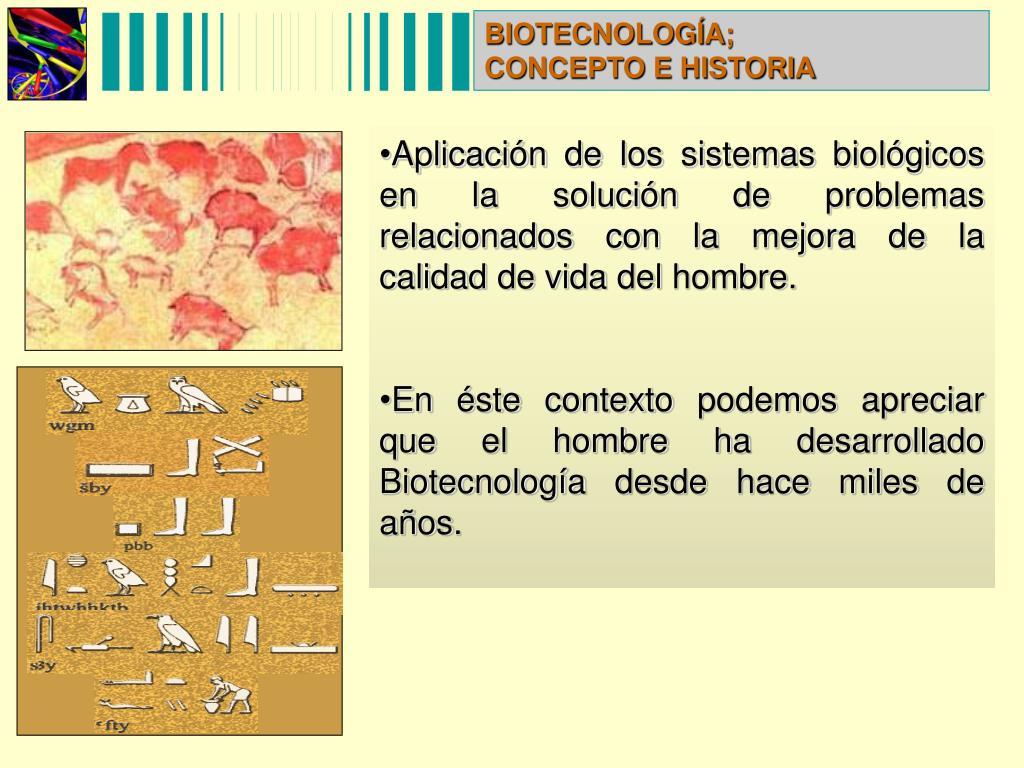 BIOTECNOLOGÍA;