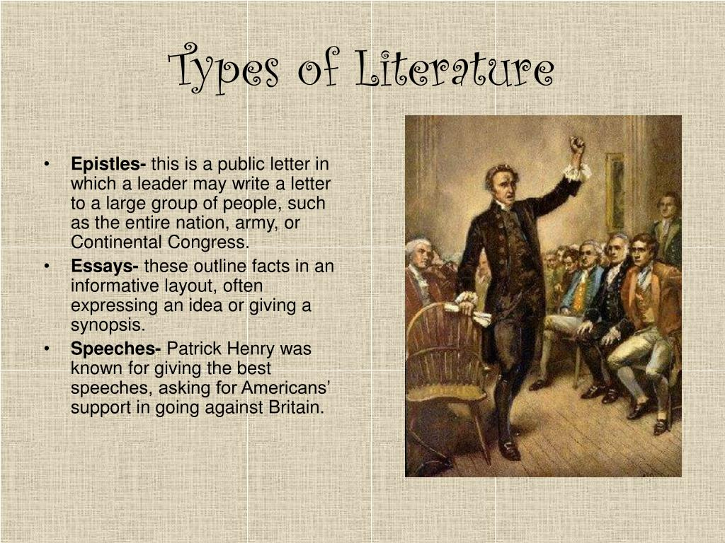 bibliography types