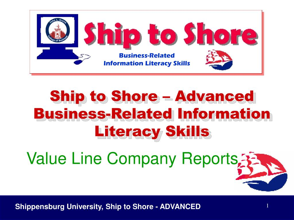 Ship to Shore – Advanced