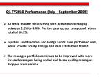 q1 fy2010 performance july september 2009