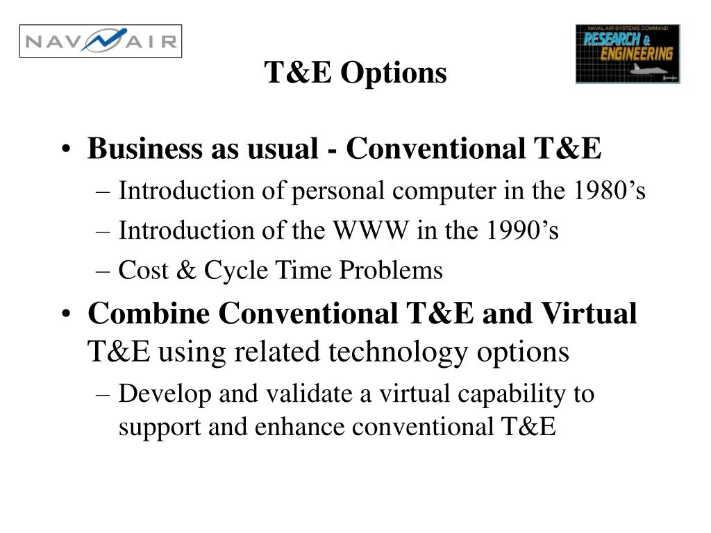 T&E Options
