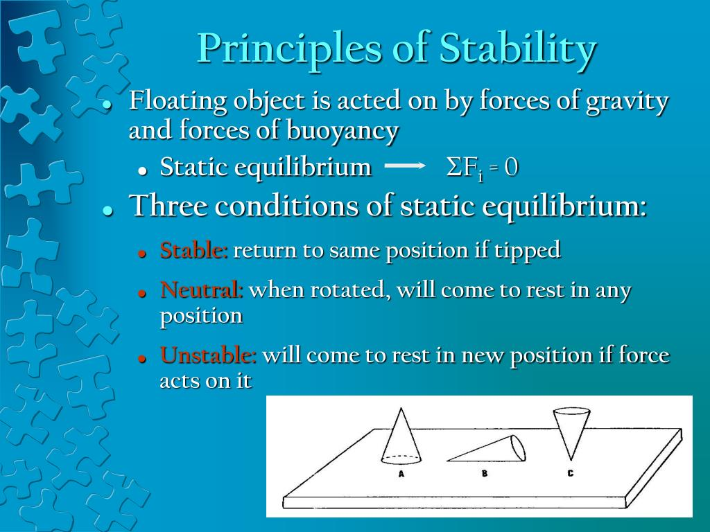 Principles of Stability