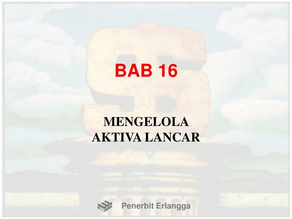 BAB 16
