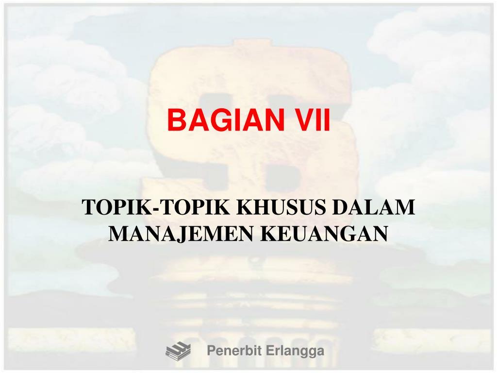 BAGIAN VII