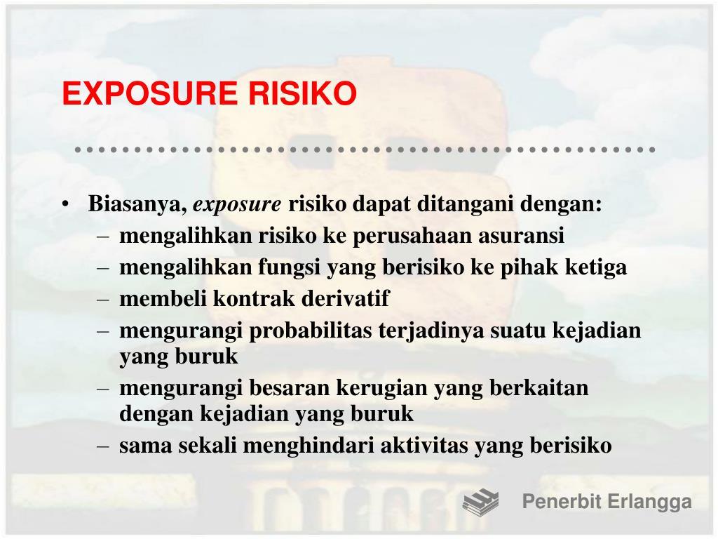 EXPOSURE RISIKO