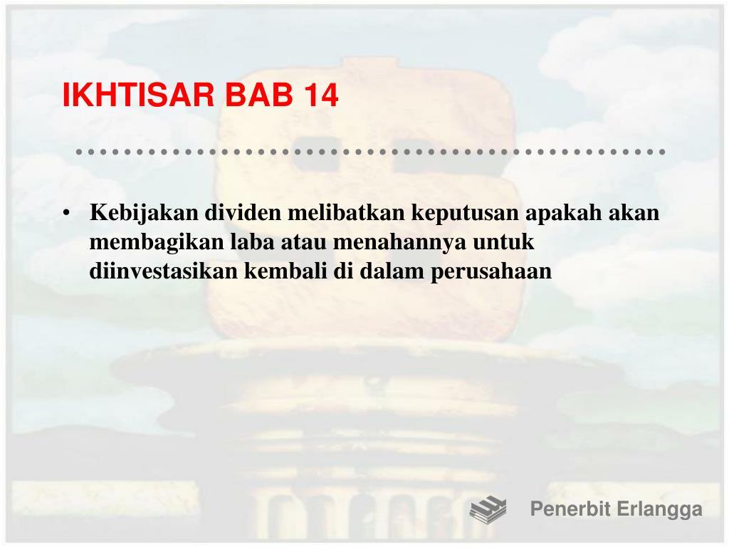 IKHTISAR BAB 14