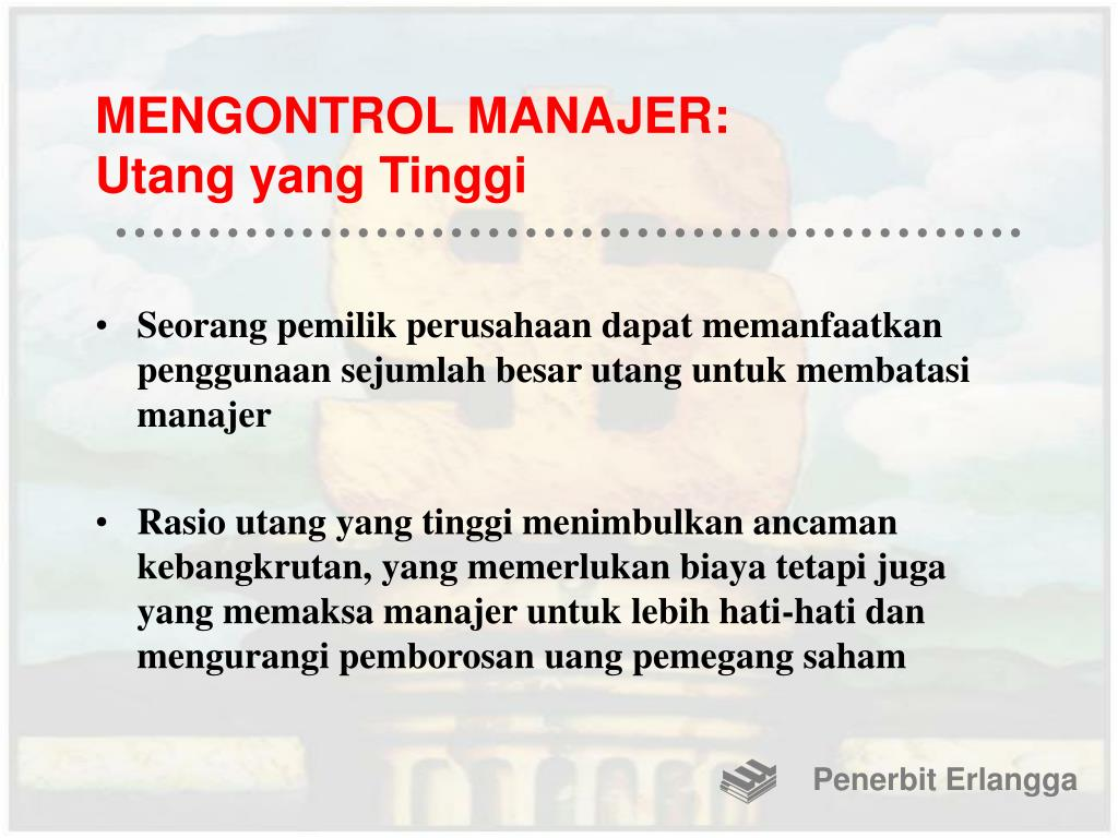 MENGONTROL MANAJER: