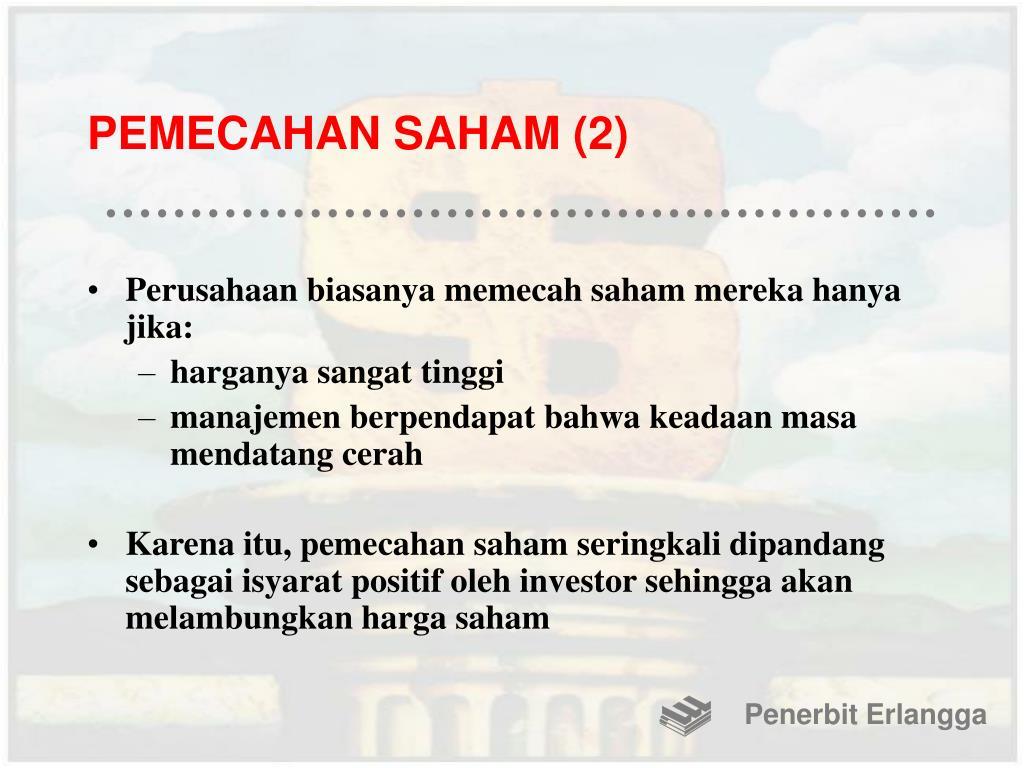 PEMECAHAN SAHAM (2)