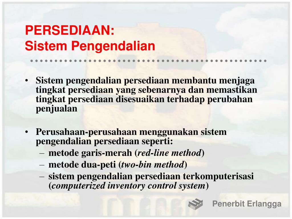 PERSEDIAAN: