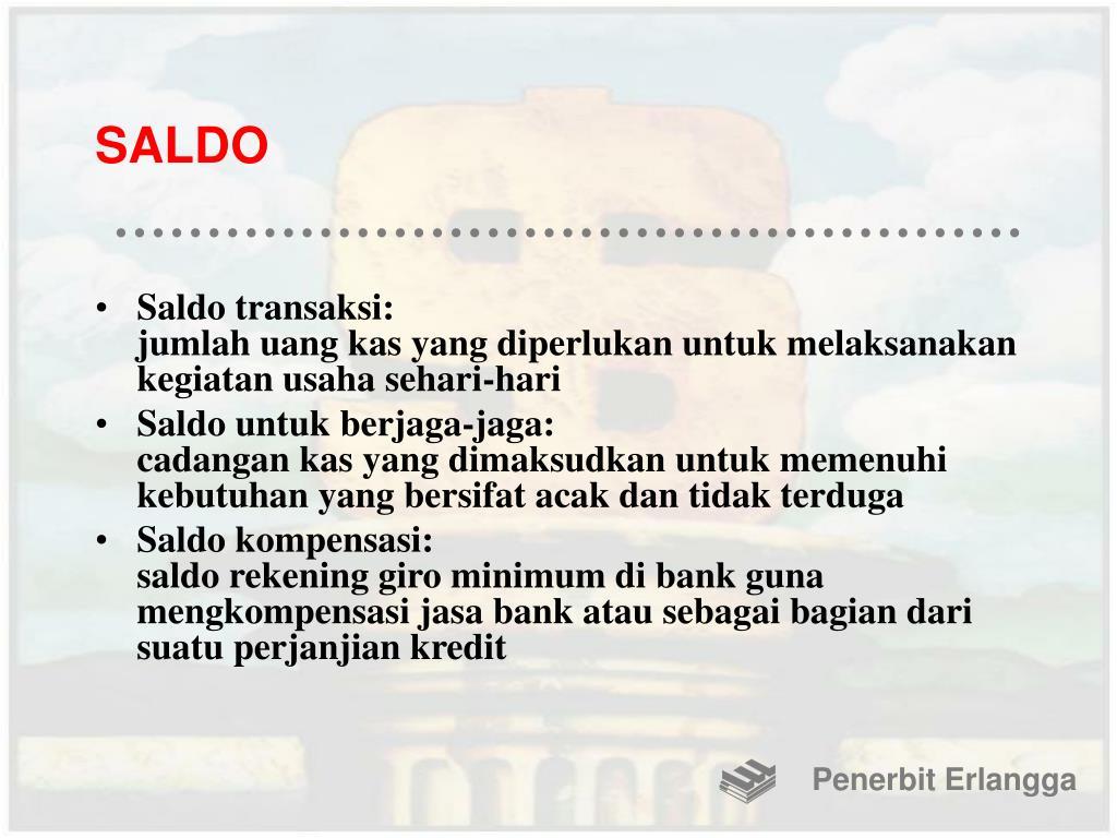 SALDO