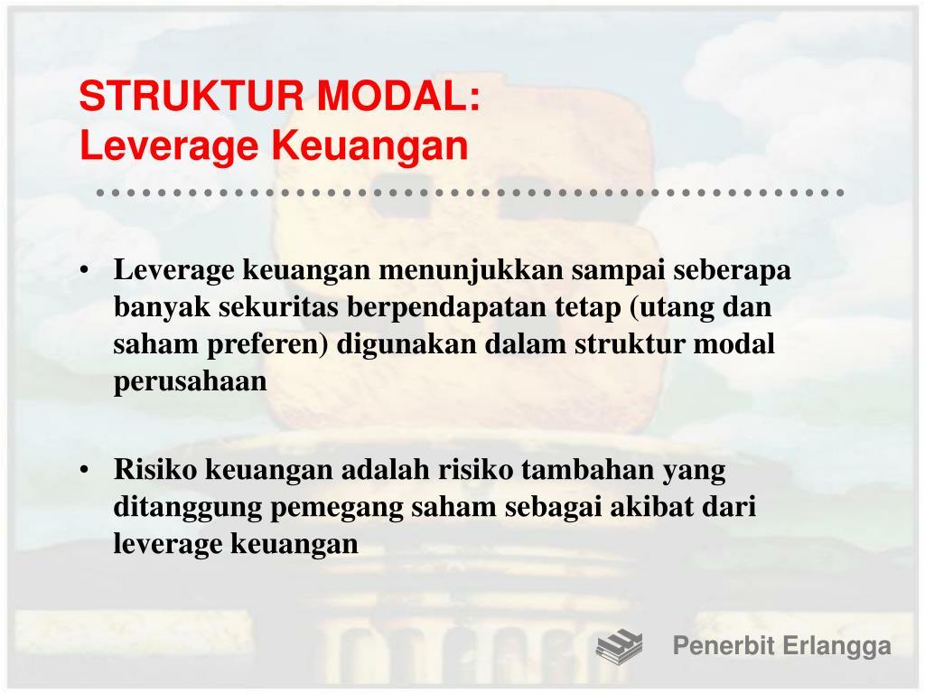 STRUKTUR MODAL: