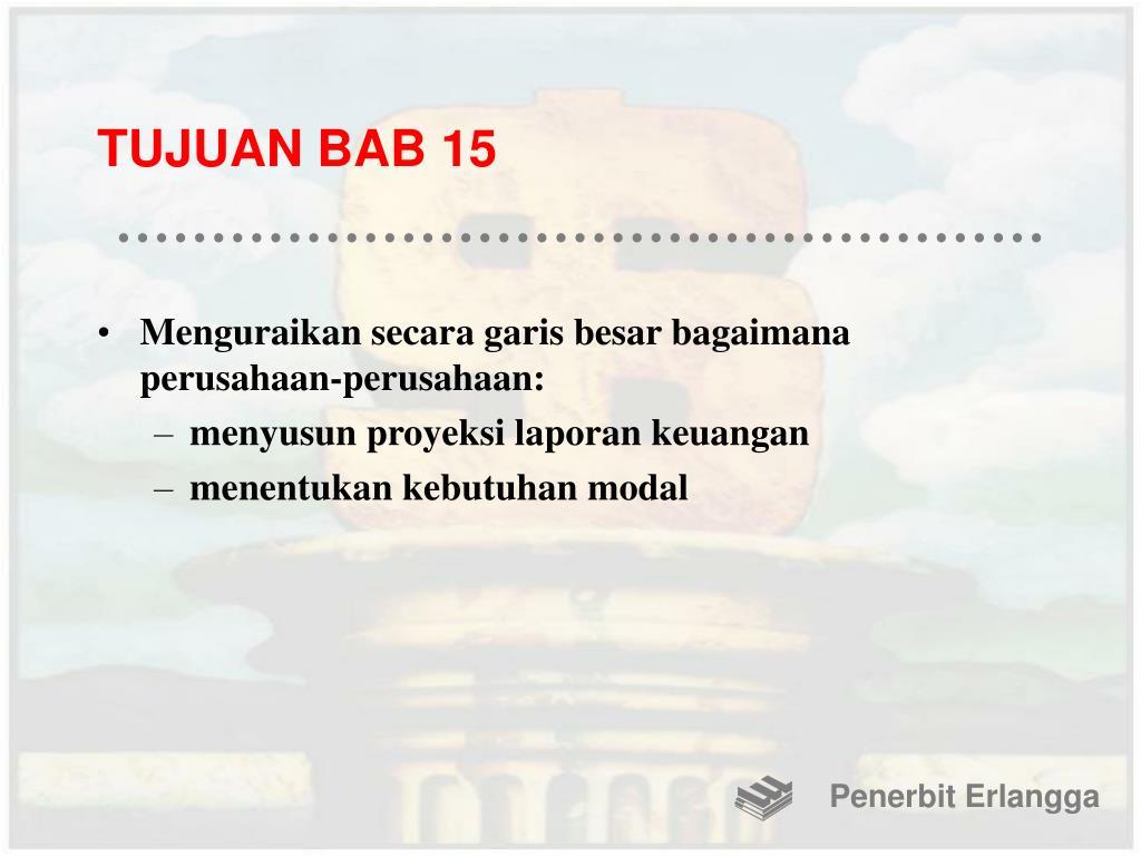TUJUAN BAB 15
