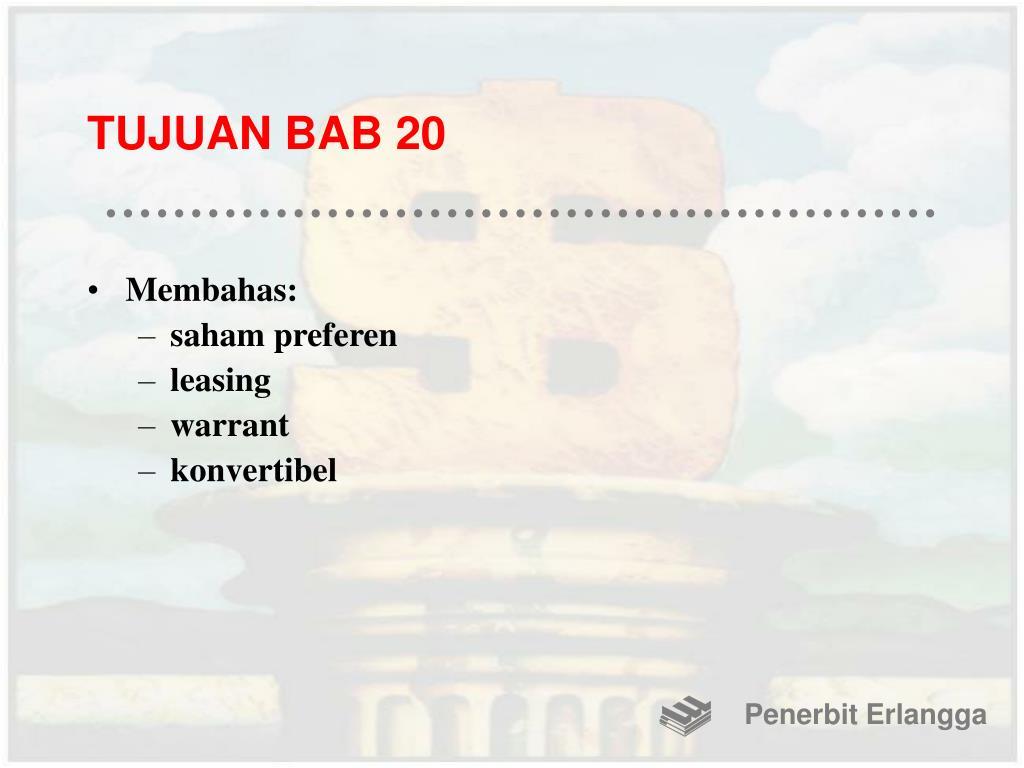 TUJUAN BAB 20