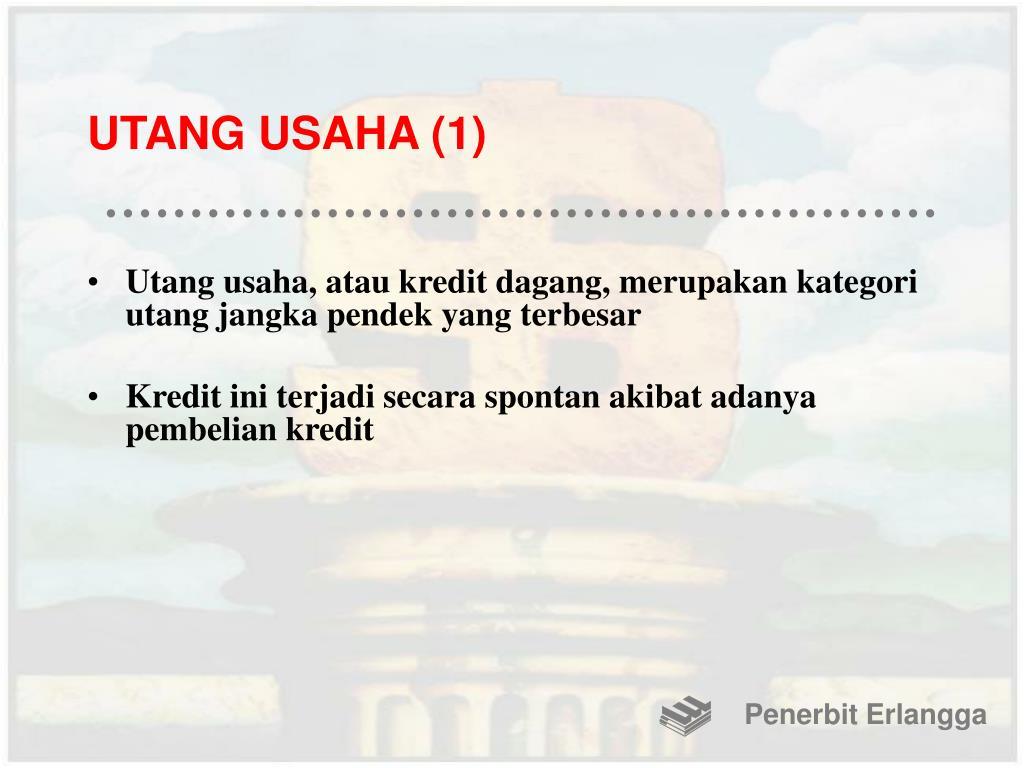 UTANG USAHA (1)