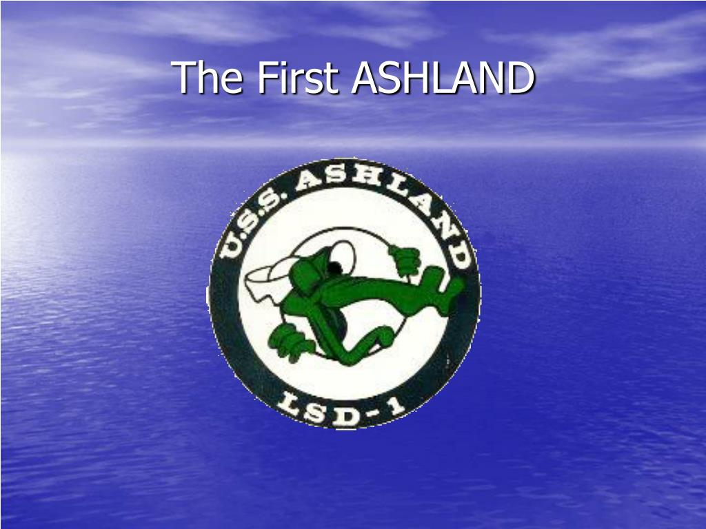 The First ASHLAND