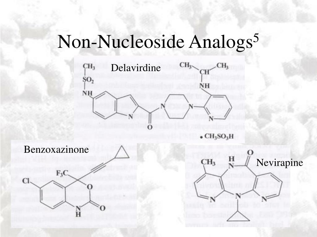 Non-Nucleoside Analogs