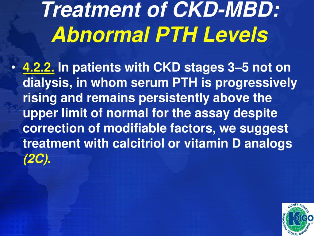 ppt kdigo clinical practice guideline diagnosis evaluation prevention and treatment of