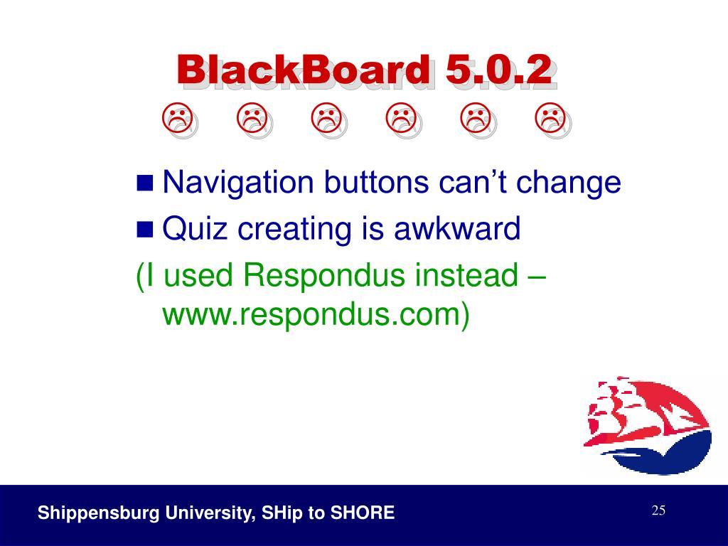 BlackBoard 5.0.2