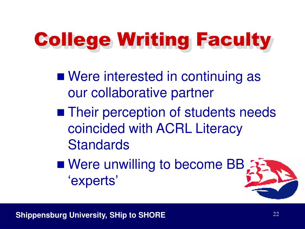 College Writing Faculty