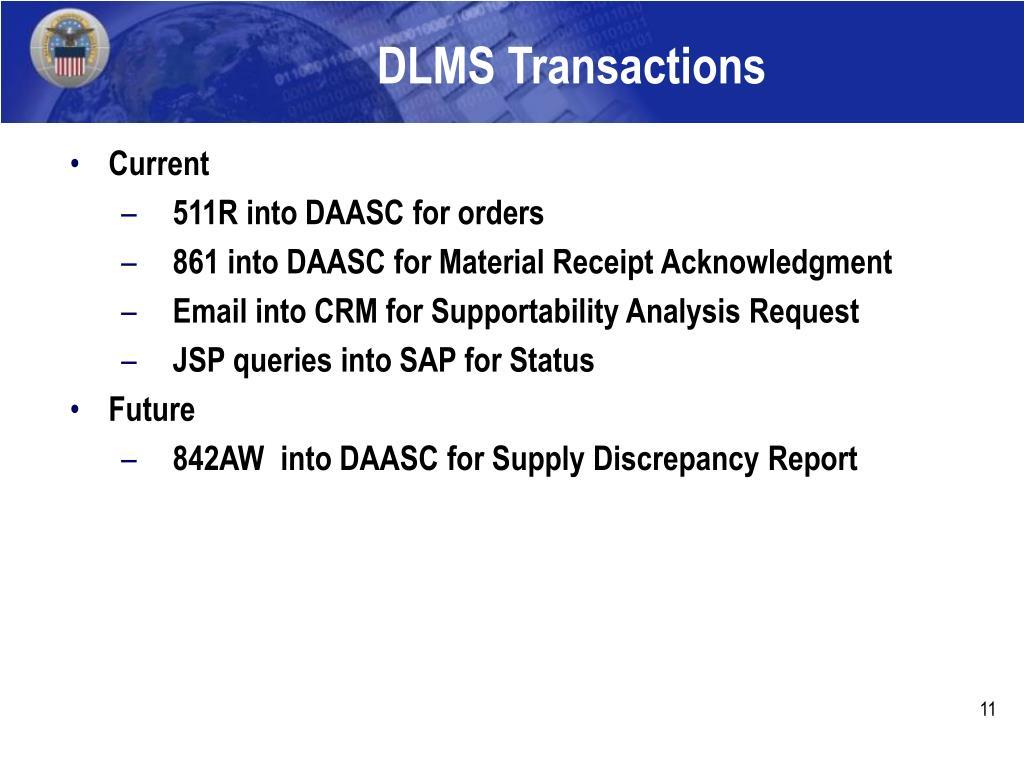 DLMS Transactions