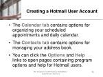 creating a hotmail user account54
