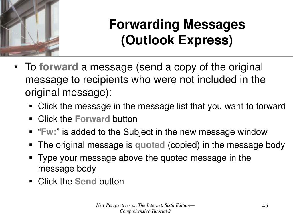 Forwarding Messages
