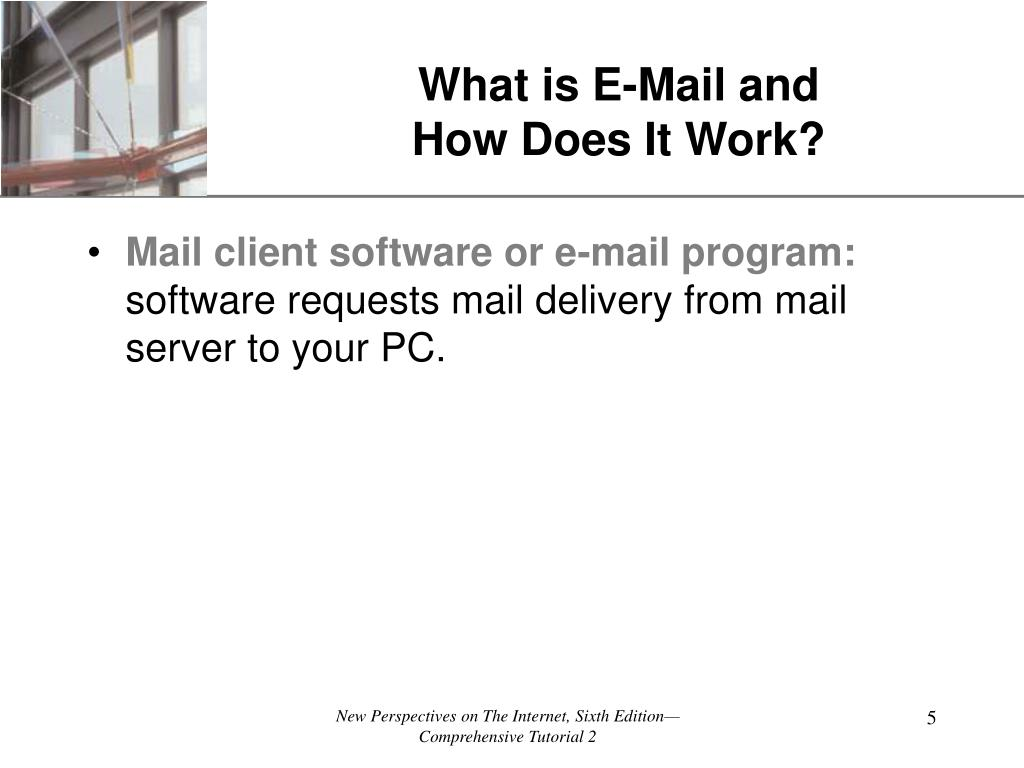 What is E-Mail and