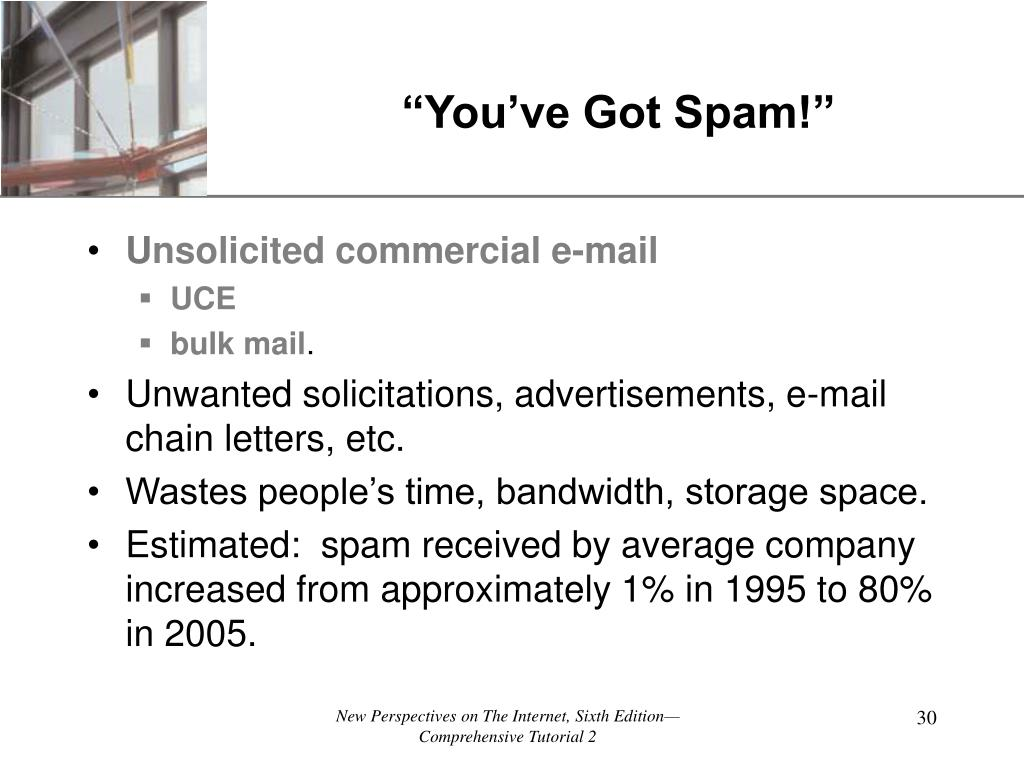 """You've Got Spam!"""