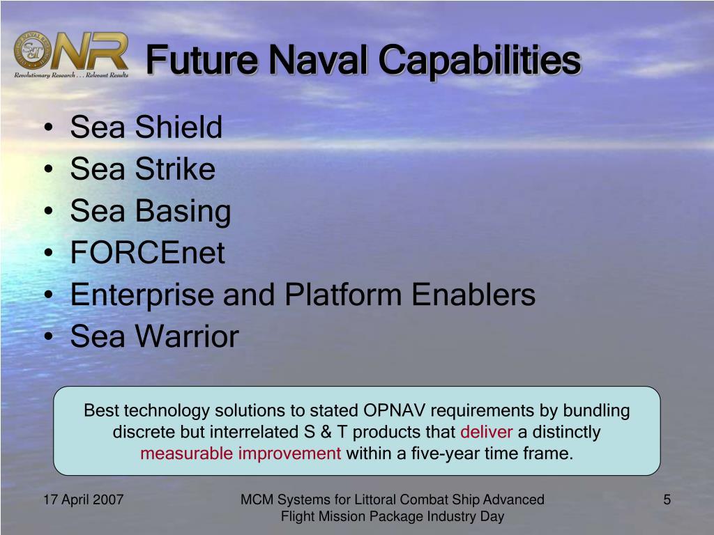 Future Naval Capabilities