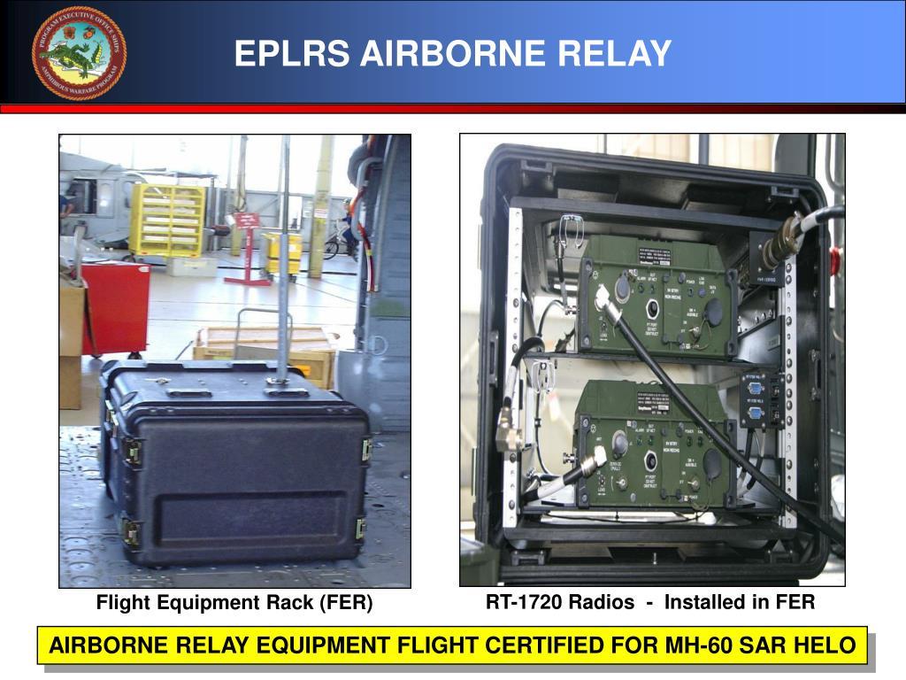 EPLRS AIRBORNE RELAY