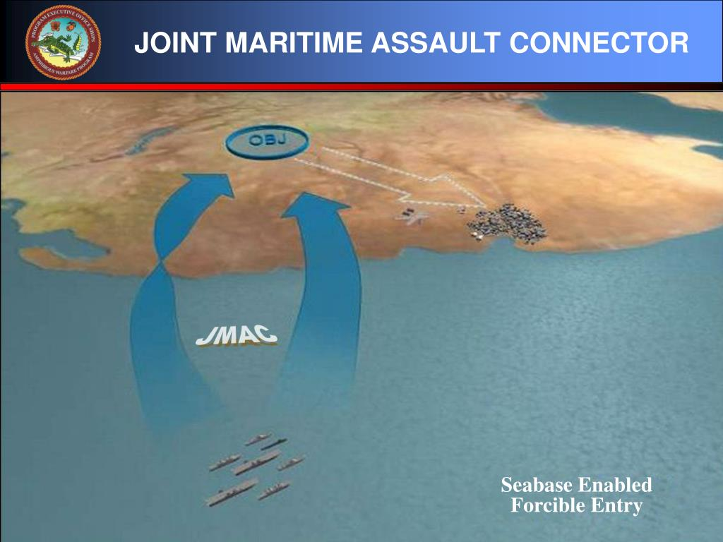 JOINT MARITIME ASSAULT CONNECTOR