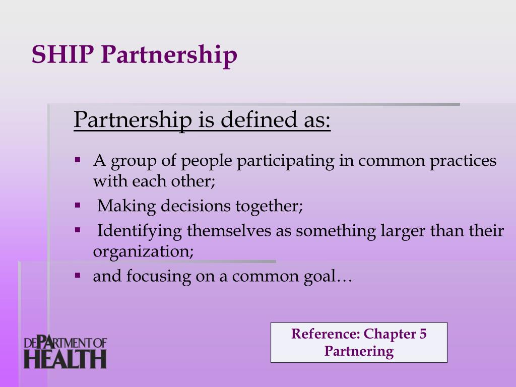 SHIP Partnership