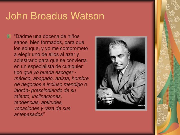 John Broadus Watson