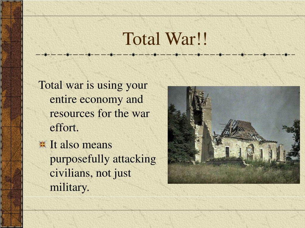 Total War!!