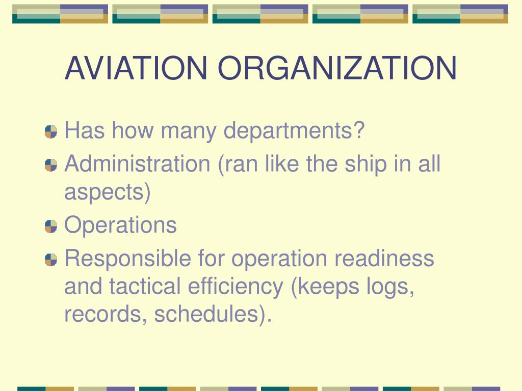 AVIATION ORGANIZATION