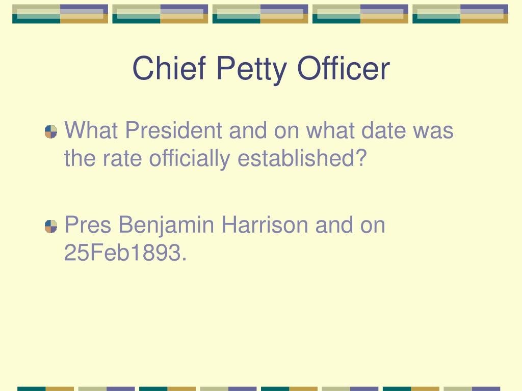 Chief Petty Officer