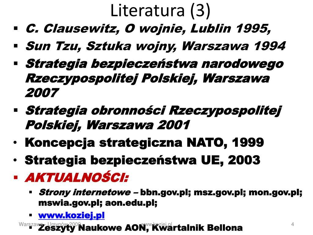 Literatura (3)