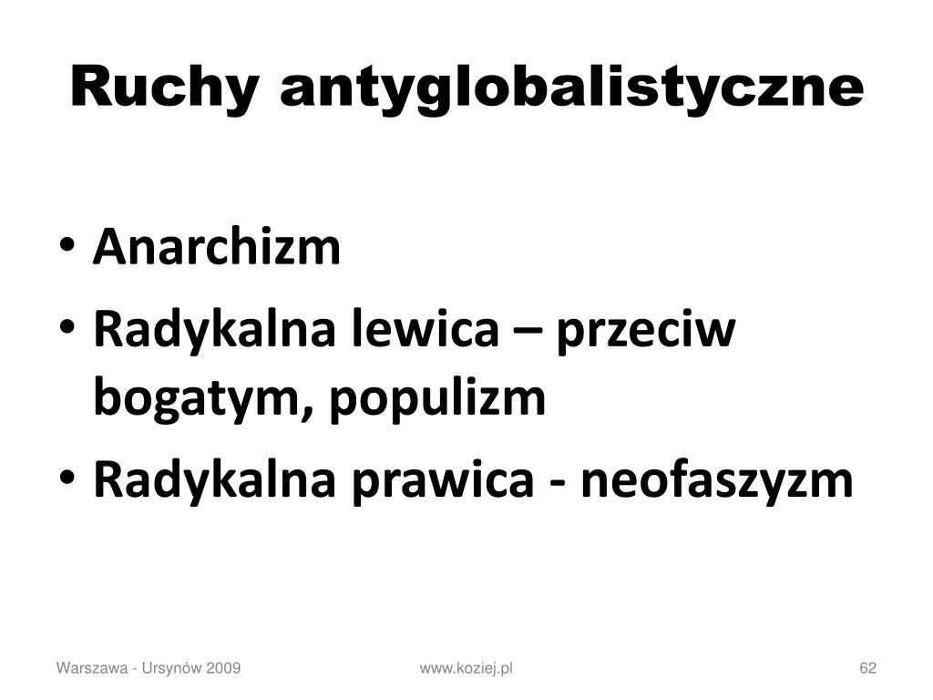 Ruchy antyglobalistyczne