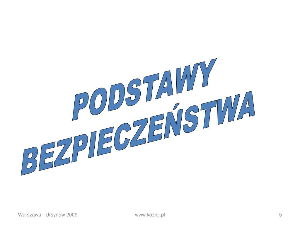 PODSTAWY
