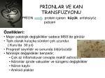 pr onlar ve kan transf zyonu