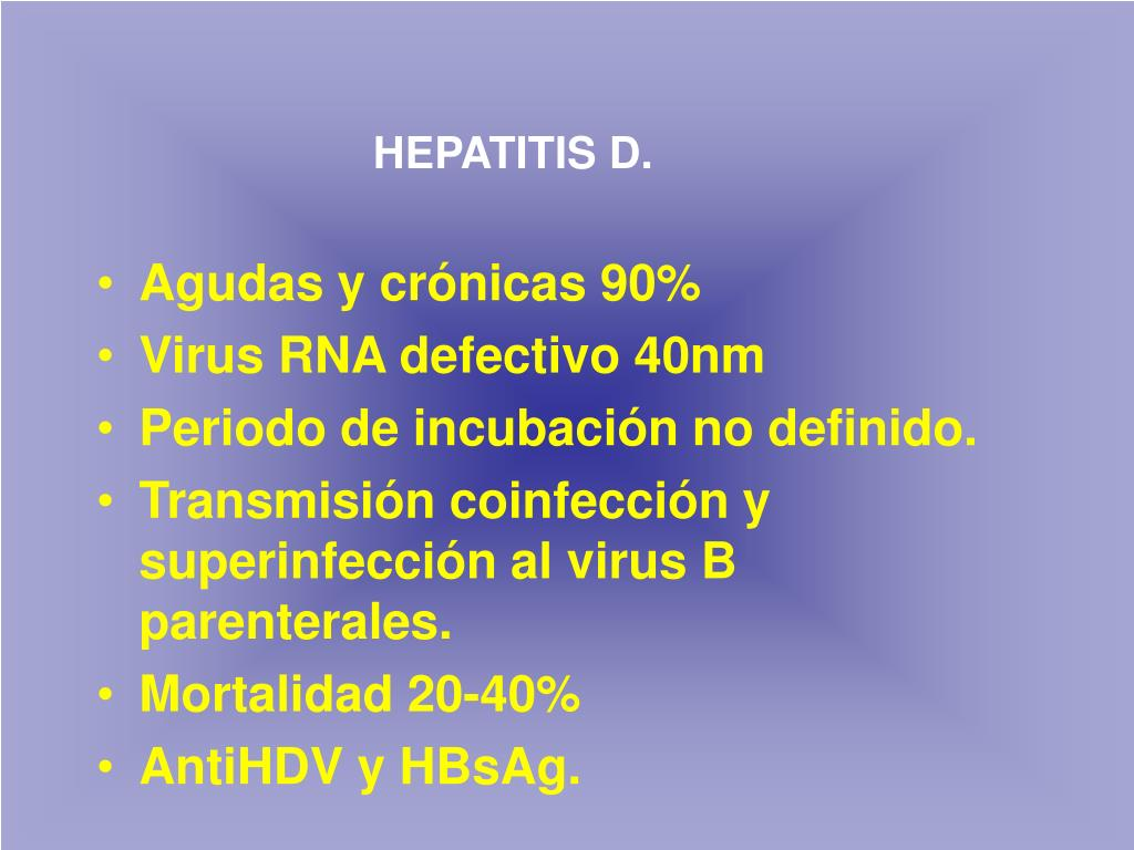 HEPATITIS D.