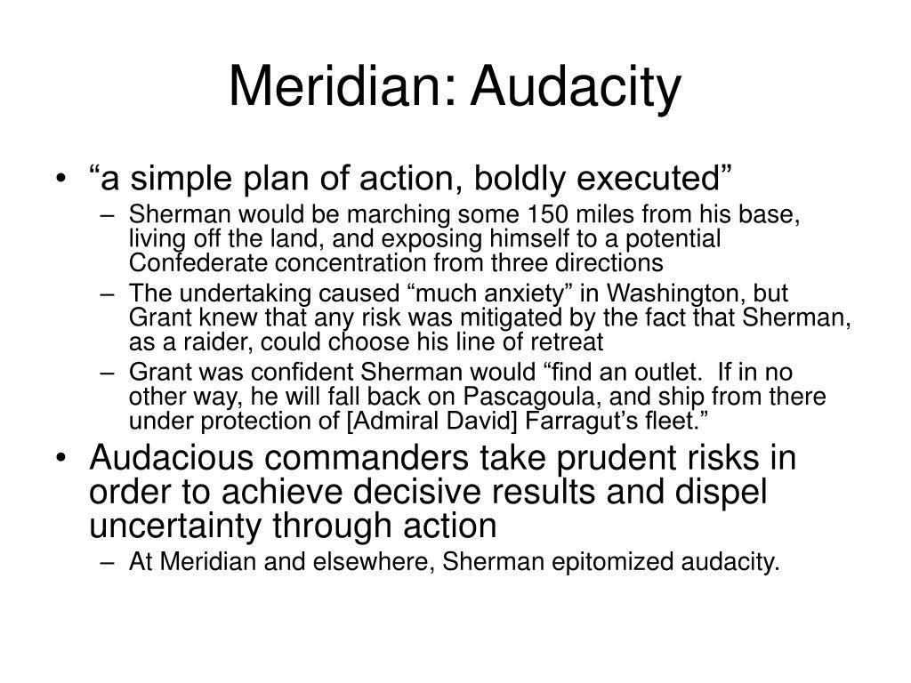 Meridian: Audacity