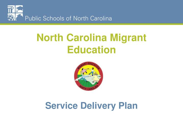 North carolina migrant education