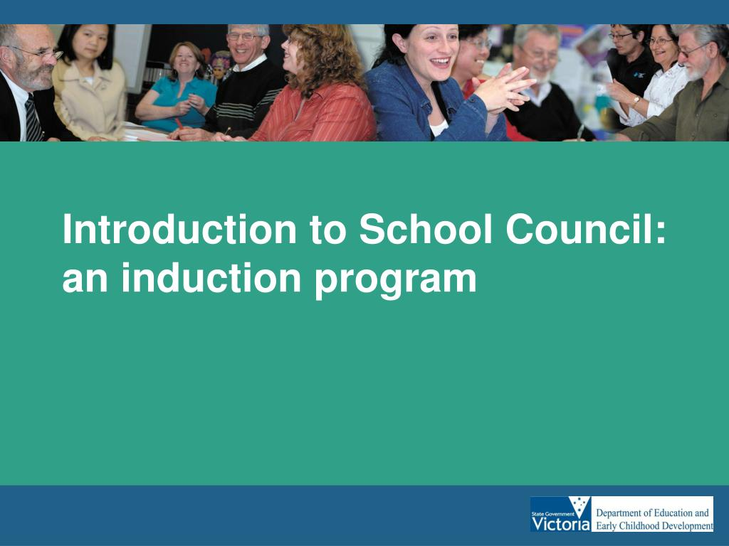 introduction to school council an induction program