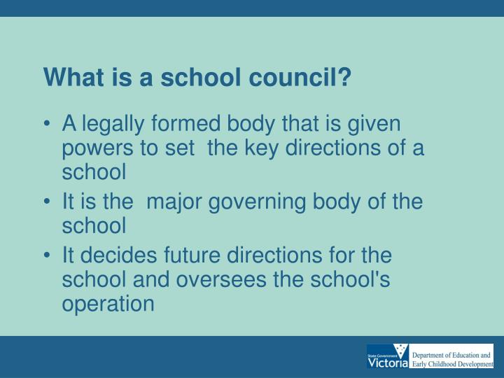 What is a school council