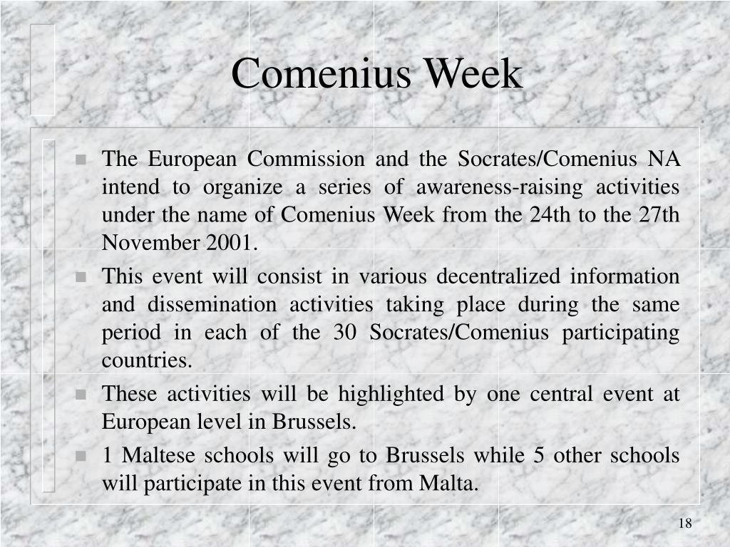 Comenius Week