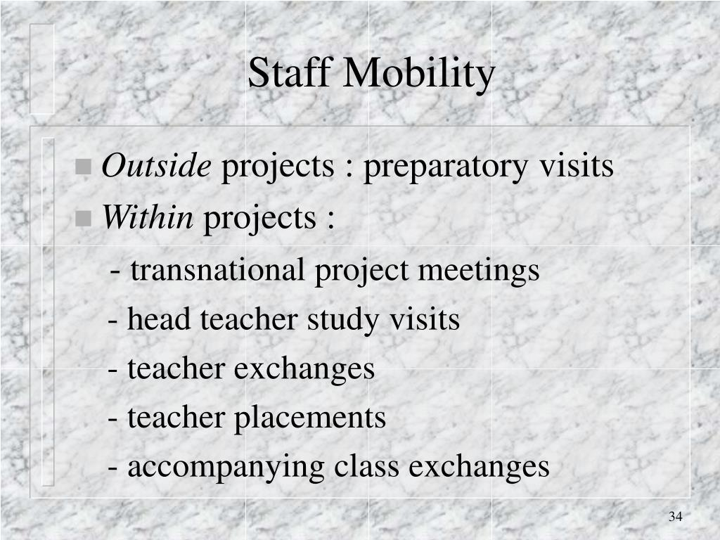 Staff Mobility