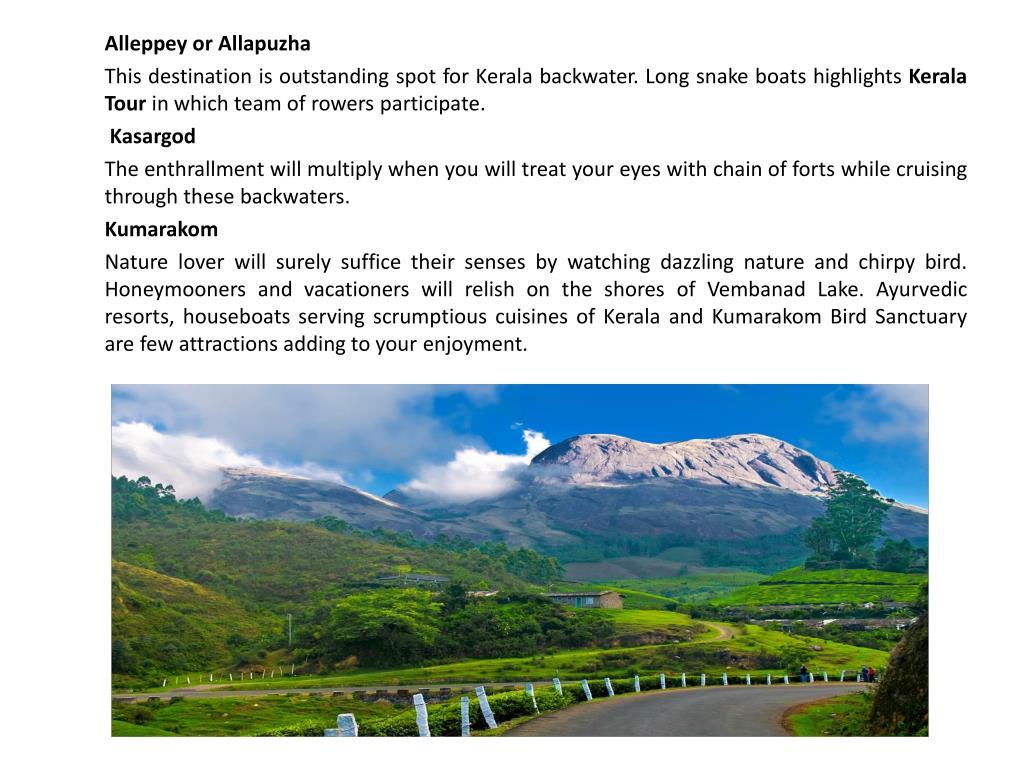 Alleppey or Allapuzha