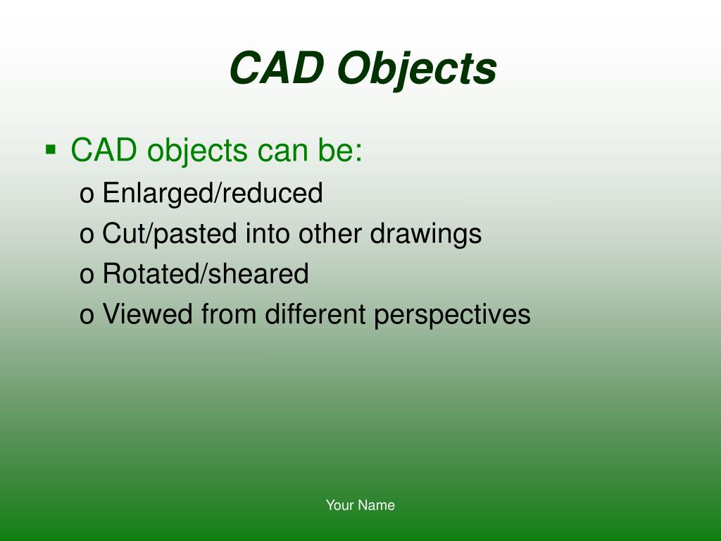 CAD Objects